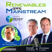 Renewables Going Mainstream Podcast with Mark Latham of Panel The Planet